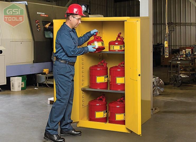 5 lý do tại sao tủ đựng hóa chất chống cháy là khoản đầu tư quan trọng