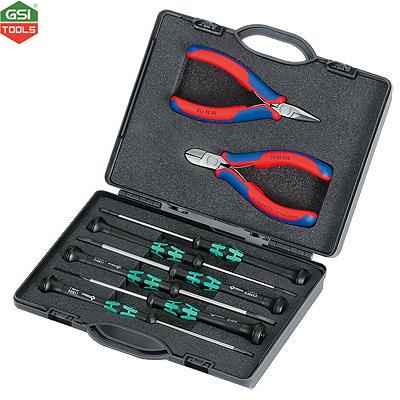 Bộ dụng cụ điện tử 8 chi tiết Knipex